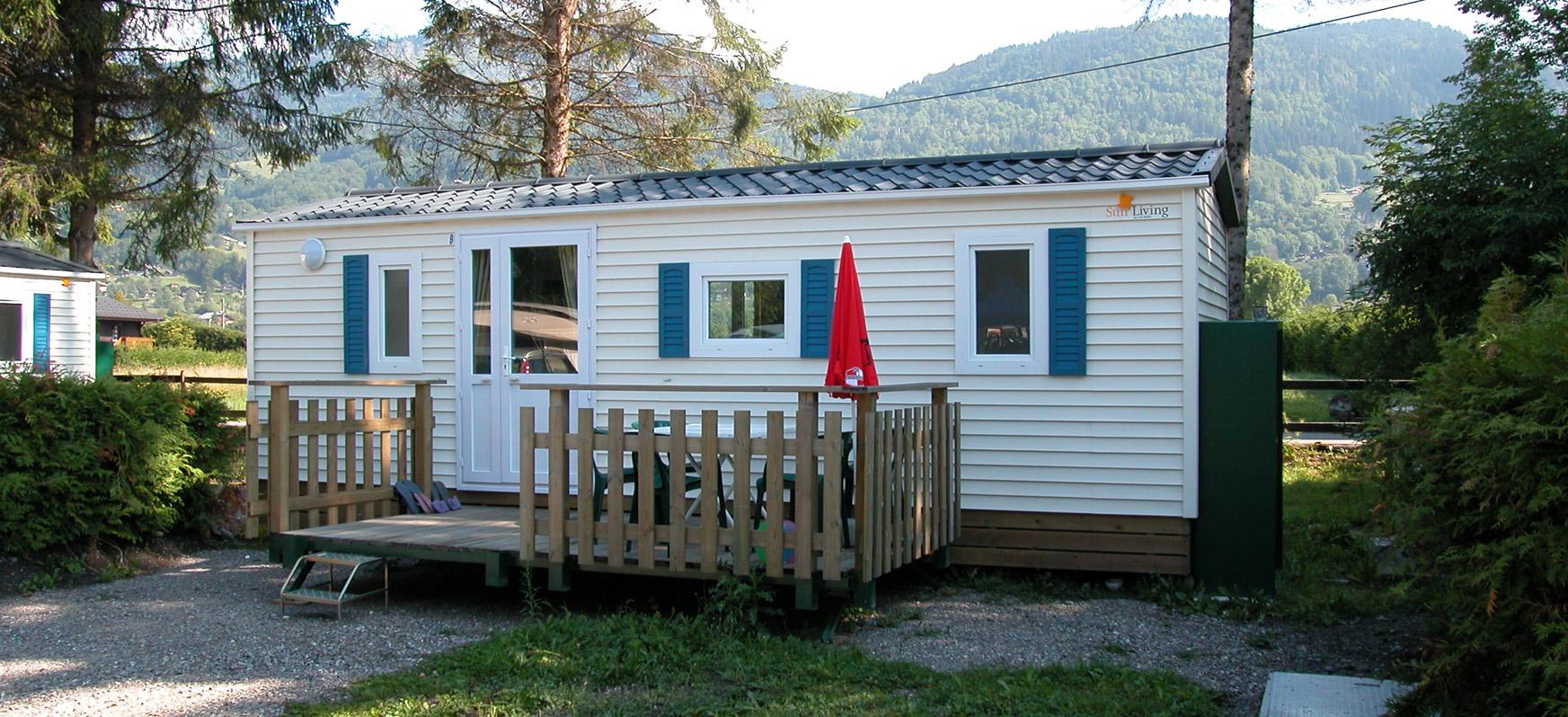 Chevrot loisirs location de mobil home samoens en for Camping haute savoie avec piscine